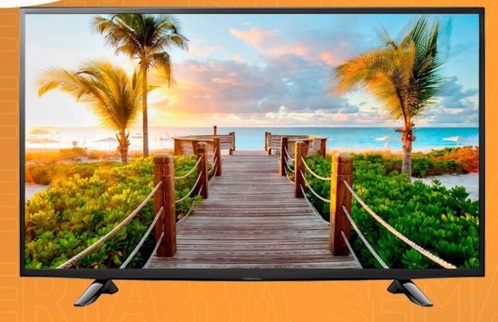 """ABG Full HD 43"""" - Centrais de Ar e Televisores Smart - Unifrio"""