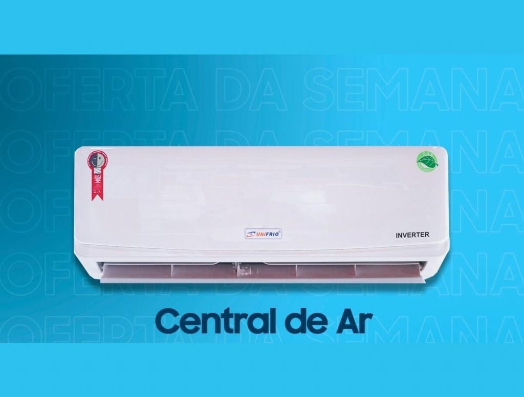 Central de ar 12.000 Btus - Centrais de Ar e Televisores Smart - Unifrio