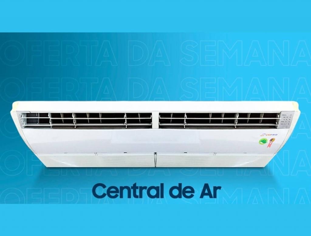 Central de ar 36.000 Btus - Centrais de Ar e Televisores Smart - Unifrio